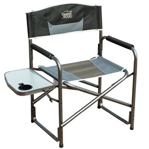 Timber Ridge Aluminum Portable Director's Folding Chair