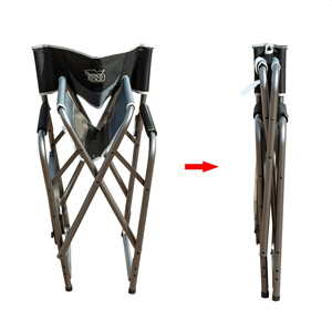 Timber Ridge Director's Folding Chair Folded