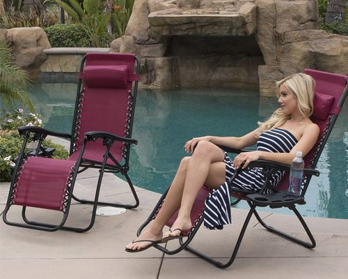 Belleze 2-Pack Zero Gravity Chairs